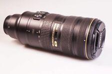 Nikon Nikkor 70-200 mm f/2.8 II G SWM AF-S VR N M/A ED Objectivement
