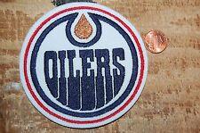 "Edmonton Oilers 4"" Patch 1996-2011 Primary Logo Hockey"