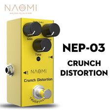 NAOMI Mini Distortion Guitar Effect Pedal DC 9V For Electric Guitar