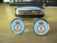 ROYAL AIR FORCE BRIZE NORTON CUFFLINKS (IMAGE LOW RES TO PREVENT INTERNET THEFT)