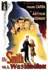 Metal Sign Mr Smith Goes To Washington 02 A4 12x8 ALuminium