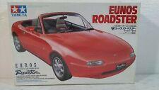 1989 Tamiya Mazda MX-5 Miata Eunos Roadster Sports Car 1:24 Scale Model Kit