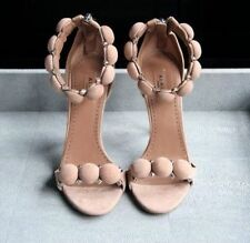 NIB Famous ALAIA STUDDED BOMBE SANDALS, sz 37.5, Chair as seen on Kim Kardashian