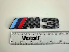BMW M3 Carbon fibre effect badge