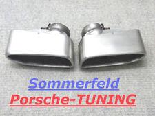 ORIGINALI PORSCHE 997 Turbo mk1 v2a terminali di scarico Tail Pipe