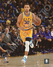 STEPHEN CURRY 2015-2016 GOLDEN STATE WARRIORS 8X10 ACTION PHOTO