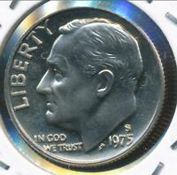 United States, 1975-S Roosevelt Dime 10c - Proof