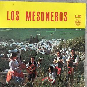 LOS MESONEROS: Conjunto Folklorico (ES EP DisCan D-007 / Mono)