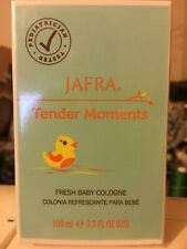 JAFRA TENDER MOMENTS FRESH BABY COLOGNE 3.3  FL. OZ. NEW AND  SEALED.