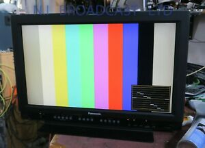 Panasonic 26inch LCD monitor BT-LD2600WE with HDSDI input and SDI and composite
