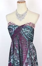 New Jovani 6769 Authentic Multicolored Beaded Print Prom Women Formal Gown 2