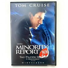 Minority Report Widescreen Two Disc Special Edition Dvd Free Shipping