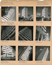 CASABLANCA c. 1950 - 15 Photos Immeuble Liberté Maroc - Pl 156