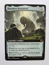 Magic MTG Zendikar Rising -  Extended-art Forsaken Monument