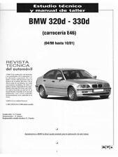 Manual de taller BMW 320D y 330D Carrocería E46 1998 - 2001 En CD Workshop