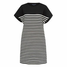Stripes Casual Dresses T-Shirts