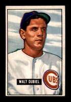 1951 Bowman #283 Walt Dubiel RC EX+ X1536371
