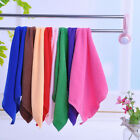 Random Color Microfiber Car Cleaning Towel Kitchen Washing Polishing Cloth pop