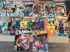ORIGINAL X-MEN #189 THRU 202 1st BABY NATHAN COVER CREASES SEE THE PICS!!