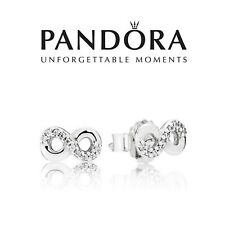 Genuine Authentic Pandora Infinity Stud Earrings