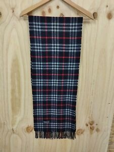 Burberry Scarf 100% Cashmere REAL ITEM Unisex