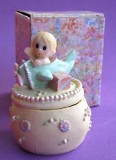 Bulk Lot x 6 Baby Boys Ceramic Baptism Christening Bonbonniere Gift Boxes NEW
