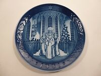 "Royal Copenhagen Christmas Blue Plate 1991 "" The Festival of Santa Lucia """