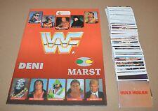 1992 Merlin WWF Leer Album + Full Komplettset 300 Aufkleber Hulk Hogan