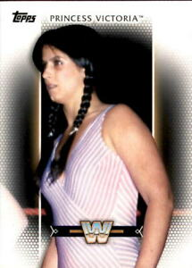 2017 Topps WWE Women's Division Princess Victoria #R-49