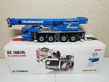 Terex AC100/4 Mobile Crane - Felbermayr - Conrad 1:50 Scale Model #2107/01 New!