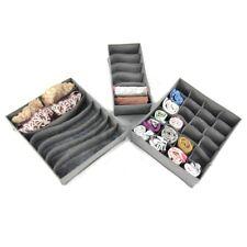Periea 3 Pack Storage Drawer Organiser Storage Solution Tidy Socks Bra Ties Draw