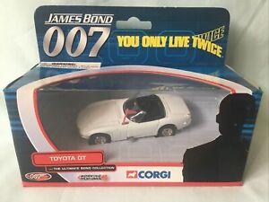 Corgi JAMES BOND 007 Ultimate Bond Collection TOYOTA GT Diecast Car MIB