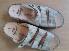 Damen Schuhe Sandalen Finn Comfort Gr 38 UK 5 Weite D hell gras Leder neu