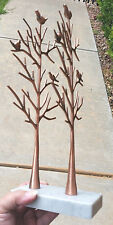 """12"""" DOUBLE Russian Style Egg Tree Stand Marble Stone Base Display Jewelry, Eggs"""