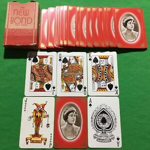Old 1930s Vintage * QUEEN ELIZABETH - Wife KING GEORGE VI * Playing Cards ROYAL