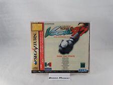 Sega Saturn - J.league Victory Goal '97 JAP Nell'imballaggio Ottimo stato Usato