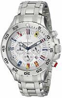 New Nautica Men's N20503G NST Stainless Steel Watch