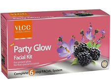 3X VLCC Party Glow Facial Kit Berberry Snigdha  Mulberry Saffron Papaya