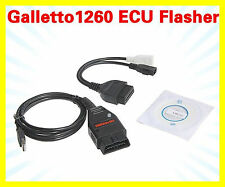 GALLETTO 1260 OBD2 EOBD ECU Chip Tuning Interface Remap Flasher Programmer Tool