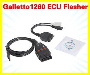 GALLETTO 1260 OBD2 EOBD ECU Chip Tuning Interface Remap Flasher Programmer Tool