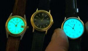 Lot Of 3 WORKING Women's Watches. Seiko/Timex/Pulsar.