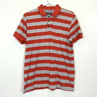 Ben Sherman Mens Red/Grey Short Sleeve Polo Shirt Size M