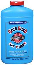 Gold Bond Foot Powder Medicated Maximum Strength 10 oz