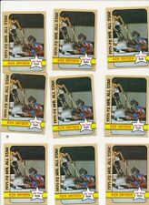 1972-73 Topps #127 Ken Dryden AS  EX-EXMINT  LOT OF 9 CARDS! CANADIENS *GMCARDS*