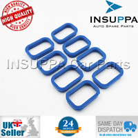 8X INLET MANIFOLD GASKET FOR JAGUAR X-TYPE LAND ROVER DEFENDER MAZDA BT-50