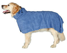Trixie Bathrobe For Dogs Blue Extra Large 75cm