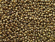 557 galvanized Toho Rocailles 8//0 3mm 10g 20g ORO METALLIZZATO LUCIDO codice