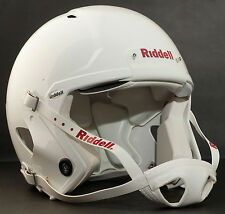 Riddell Revolution SPEED Classic Football Helmet (Color: METALLIC WHITE)