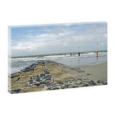 Top Bilder Kunstdruck auf Leinwand Wandbilder XXL Norderney 100 cm*65 cm 276
