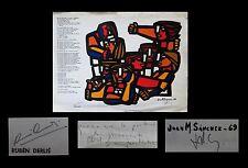 [ARGENTINA] SANCHEZ (Juan Manual) - DERLIS (Ruben) / Serigraphy signed